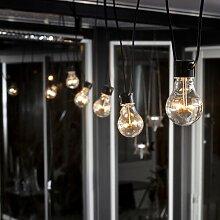 Glühbirnen-Lichterkette Erweiterungssystem mit 10