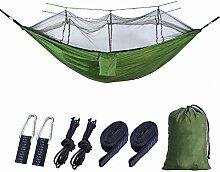 GLXQIJ Camping-HäNgematte Mit Moskitonetz, 2
