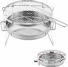 GLXQIJ Tragbarer BBQ-Grill Easy Clean