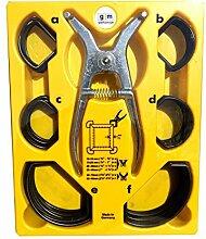 GM Arbeitsgarnitur Gehrungsspannklammer Spreizzange Satz Set GM - Qualität NEU