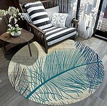 GM Carpet Runder Teppich - Couchtisch Schlafzimmer