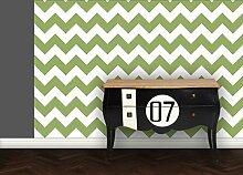 GMM Tapete Modern living - Zack angepasst an Ikea