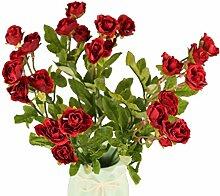 GMMH 27 Rosen Bund 35 cm Hoch Seidenblumen