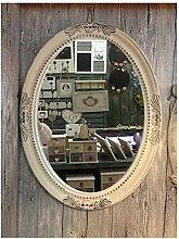 GMMH Charmanter Landhaus Holz Wandspiegel 18-1