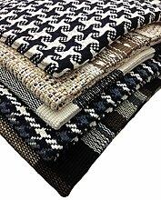 GMMH Fleckerlteppich Baumwolle Handweb Teppich