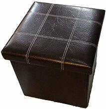 GMMH Hocker Sitzhocker Box Aufbewahrungsbox