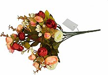 GMMH Kamelie Bund 35 cm Seidenblumen Kunstblumen