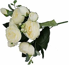 GMMH Pfingstrosen Bund 29 cm Seidenblumen