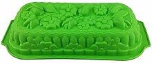 GMMH Silikonbackform Blumenstrauß grün Kuchen