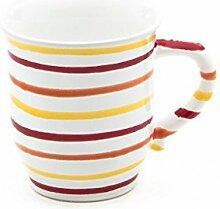 Gmundner Keramik Manufaktur 0105TSHS09 landlust Schokotasse, 0,3 L