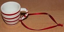 Gmundner Keramik Tasse Mini, Miniatur mit Band,