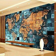 GMYANBZ Foto-Wandbild-Tapete der Welt-3D für