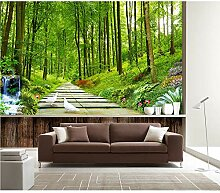 GMYANBZ Fototapete Natur Landschaft Wald Tapete