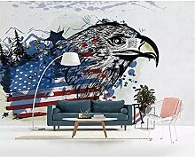 GMYANBZ Tapete Eagle Tv Background Walls 3D