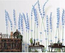 GMYANBZ Tapete-frische kreative Blumen-Tapete Art