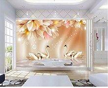 GMYANBZ Tapete Moderne 3D hohe qualität Rose
