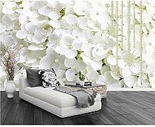 GMYANBZ Tapete-Moderne weiße Wand-Tapete der