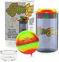 GnarJars Vorratsglas – geruchsdichter Behälter,