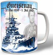 Gneisenau Schlachtschiff Scharnhorst - Tasse Becher Kaffee #2301