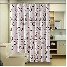 Gnzoe Polyester Duschvorhang Rund Muster Design