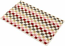 Gnzoe Polyester Teppiche Gitter Muster Design
