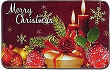 Gnzoe Polyester Teppiche Kerze Geschenkbox Muster