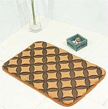 Gnzoe Polyester Teppiche Kieselstein Muster Design