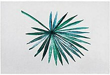Gnzoe Polyester Teppiche Kwai Blatt Muster Design