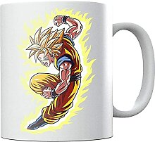 Go-ku War Dra-gon Ba-ll Z Ceramic Coffee Mug Tea