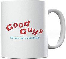 Go-od Gu-ys Packaging Chu-cky Ceramic Coffee Mug