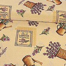 Gobelin Stoff Lavendel Dekostoffe