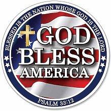 God Bless America Psalm 33: 12'Schrift