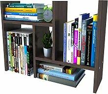 Godferyxin Schreibtisch-Bücherregal aus Holz,