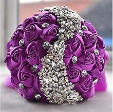 Godlife Blumenstrauß Seide Rose Blumen Hochzeit