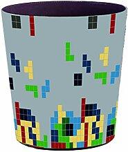 GODNECE Papierkorb Kinder Wasserdichte 10L