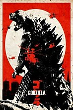 Godzilla – Film Poster Plakat Drucken Bild –