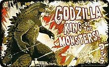 Godzilla Frühstücksbrettchen, Kunststoff, grau