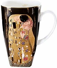 Goebel 66884362 Gustav Klimt Kaffeetasse Der Kuss