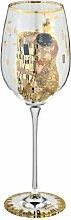 Goebel 67002113 Gustav Klimt Weinglas Der Kuss