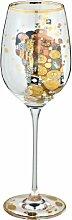 Goebel 67002147 Gustav Klimt Weinglas Die Erfüllung