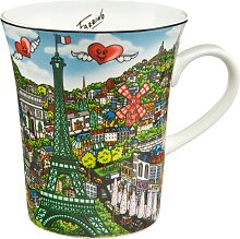 Goebel Becher Come Visit Me in Paris, von Charles