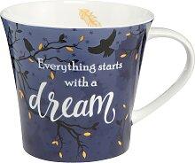 Goebel Becher Dream Einheitsgröße blau Tassen