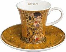 Goebel - Der Kuss - Espressotasse mit Untertasse -