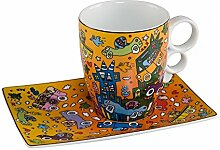 Goebel Kaffeetasse, Porzellan, 12 cm