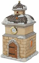 Goebel - Kirchturm mit LED - Tischuhr - Uhr -