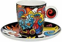 Goebel - Pop Art Together - Espressotasse mit