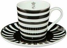 Goebel Stripes Espressotasse, Porzellan, Fine Bone