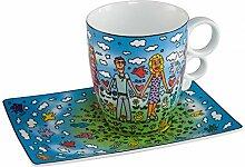 Goebel - Tasse mit Untertasse - Tasse Friends -