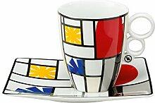 Goebel Tasse, Porzellan, Mehrfarbig