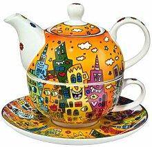 Goebel - Tea for One City Sunset 0,35 l 3-teiliges
